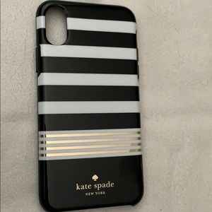 Kate Spade iPhone X snap on Case